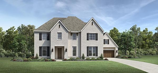 Floor Plan Name By Toll Brothers Sienna In Missouri City