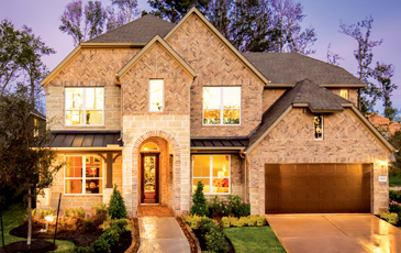 Meritage Model Home at Sienna Plantation