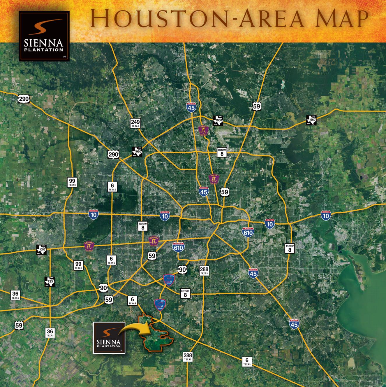 Home Design Center Missouri City Tx: Directions To Sienna Plantation In Missouri City, TX